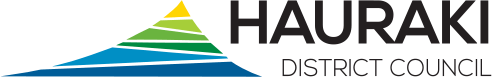 Logo hauraki district council horizontal