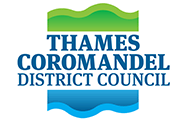 Logo thames coromandel district council
