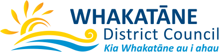 Logo whakatane district council
