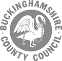Logo buckingham shire council logo grey