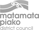 Logo matamata piako district council grey