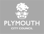 Logo plymouth city council grey